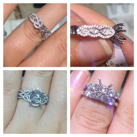 engaged   designed  engagement ring