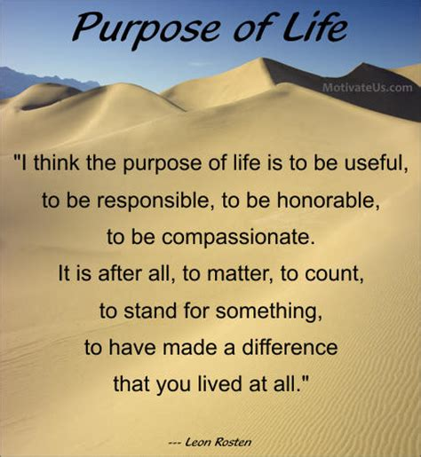 purpose of quotes about purpose in quotesgram