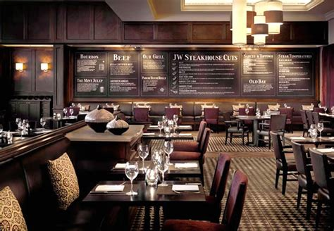 steunk house interior jw steakhouse hospitality interior design of grosvenor