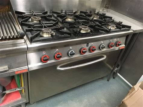 Oven Gas Merk Lotus secondhand catering equipment gas ovens