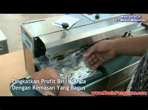 Mesin Sealer mesin pengemas plastik continuous sealer