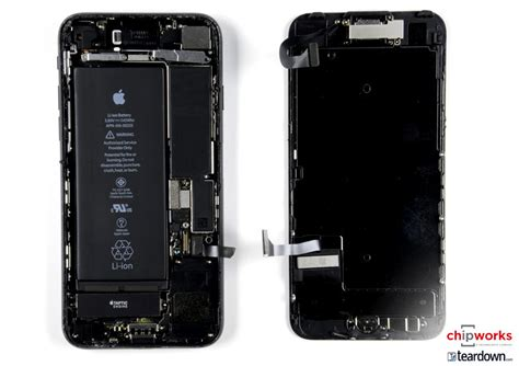 apple iphone 7 and 7 plus teardown confirms bigger battery intel lte modem in some models and more