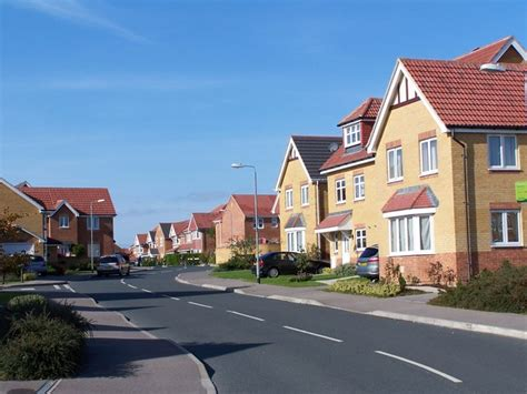 housing development new housing development sylvan drive 169 david martin cc by sa 2 0 geograph britain