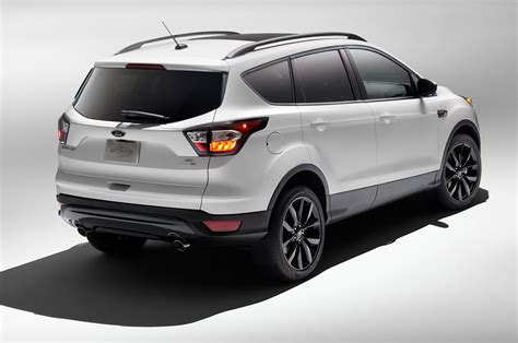 Interior Dimensions Ford Explorer Sport Appearance Package Shows Up On 2017 Ford Escape