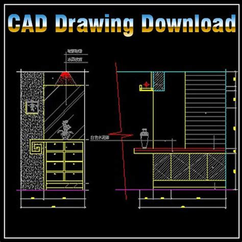 layout template autocad download entrance design template cad drawings download cad