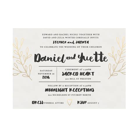 wedding invitations australia wedding invitation sles australia choice image invitation sle and invitation design