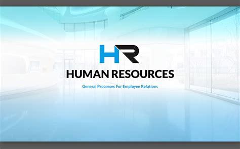template powerpoint hr hr process powerpoint template 64735