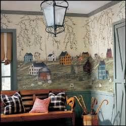 Country Wall Murals Decorating Theme Bedrooms Maries Manor Primitive