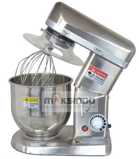 Mixer Roti Di Malang jual mesin mixer planetary 7 liter stainless ssp 7 di malang toko mesin maksindo di malang