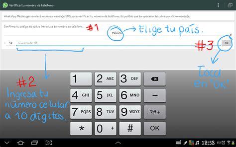 tutorial descargar whatsapp para tablet tutorial instalar whatsapp en tu tablet android wi fi