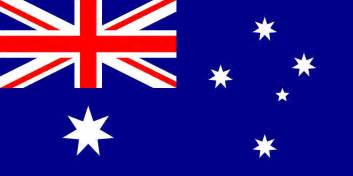 australia flag vector country flags
