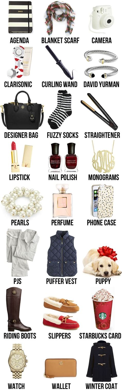 17 best ideas about christmas gift list on pinterest