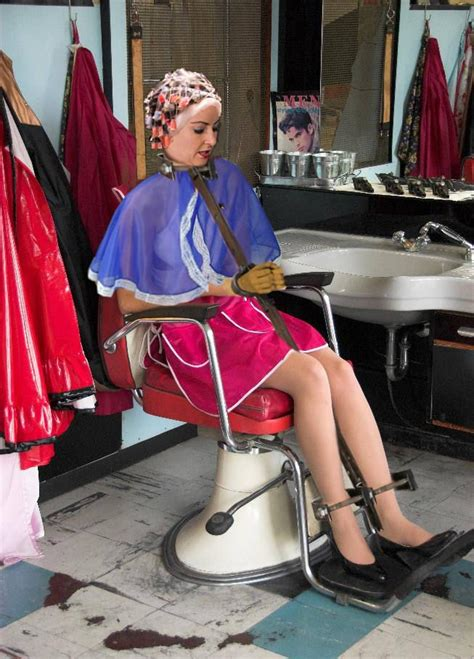 forced hairdresser 90 best images about haircut cape salons on pinterest
