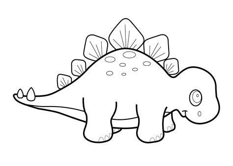 cute dinosaur coloring pages for kids az coloring pages