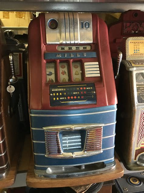 mills hightop  slot machine gameroom show