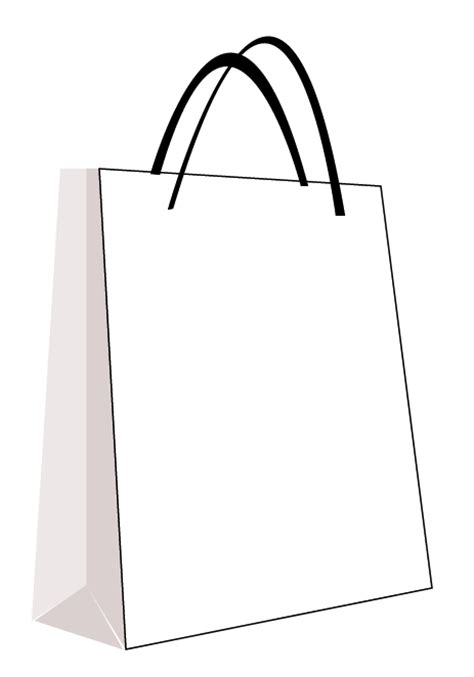 bag template design practice ted baker shopping bag