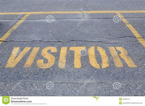 visitor pattern considered harmful visitor sign stock photo image 42596141
