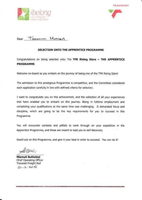 appointment letter project manager appointment letter novasatfm tk