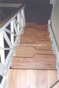 Alternate Stairs by Alternated Treads Stairs Design Space Saving Stairs