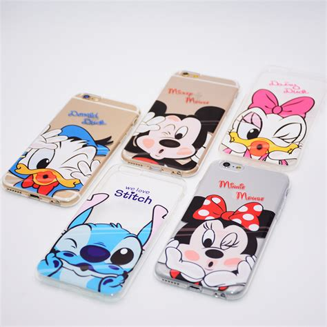 Casecassingcasing For Iphone 6 6s Plus Soft Minnie mickey minnie mouse fundas coque for iphone 8 7 6 6s plus phone soft tpu cover donald duck