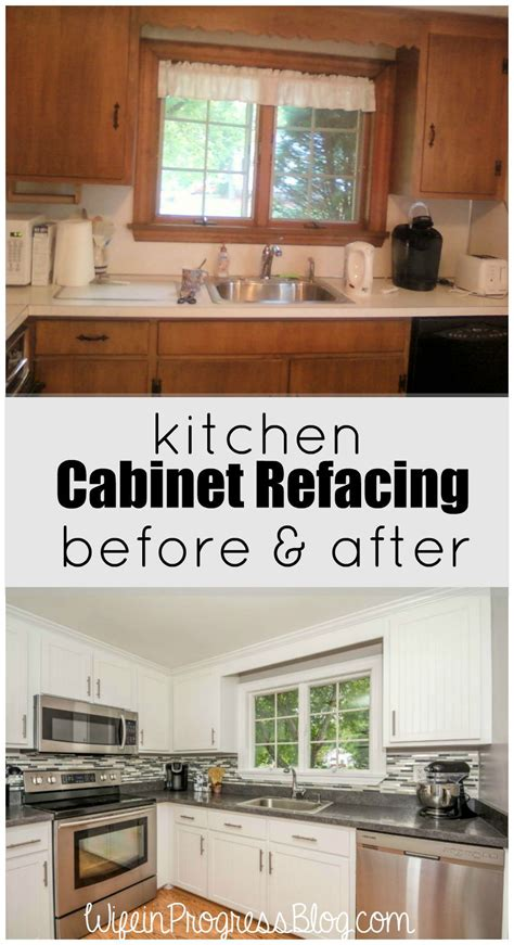how to reface old kitchen cabinets kitchen cabinet refacing a cheaper solution than ripping