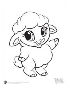 baby animals coloring pages learning friends sheep baby animal coloring printable from