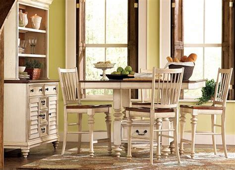 Dining Room Tables Havertys Dining Rooms Southport Pub Table Distressed White