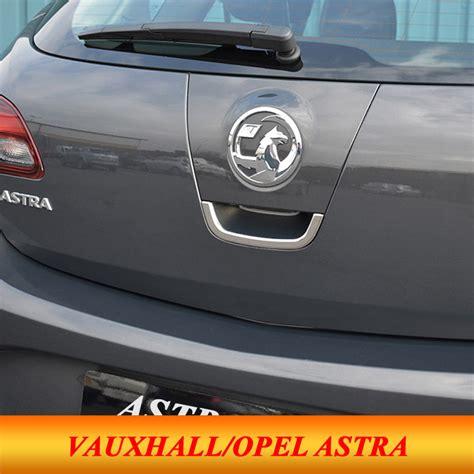 For 2010 2014 Vauxhall Opel Astra J Car Trunk Door Bowl