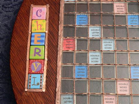 Handmade Scrabble Board - custom scrabble board by fzxtchr lumberjocks