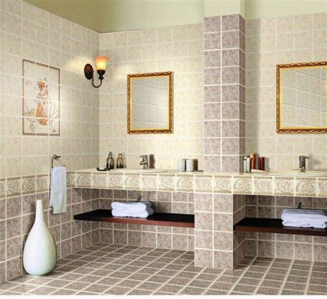 different types of bathroom tiles the 13 different types of bathroom floor tiles pros and cons
