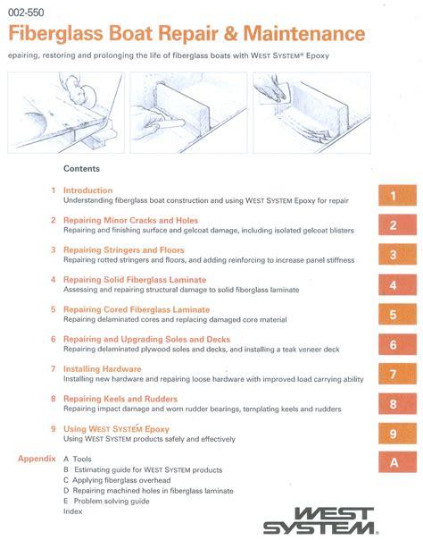 fiberglass boat repair and maintenance new page 1 www macnaughtongroup