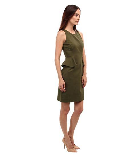 Kate Spade Alma 03956 Semiori kate spade new york peplum dress alma green shipped free at zappos