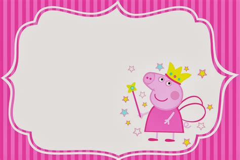 peppa pig birthday card template de cumplea 241 os de peppa pig tips de madre