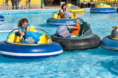 kid boat horn the track offers a wide variety of bumper car rides in branson