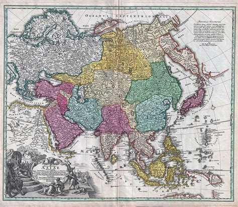 asia map geography geography of asia