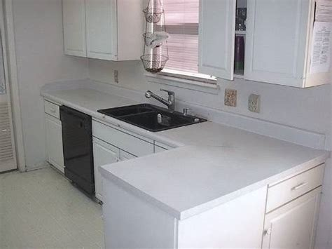 White Formica Kitchen Cabinets Kitchen With White Formica Countertops The Interior
