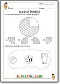 completing the pattern grade 1 worksheet for class 1