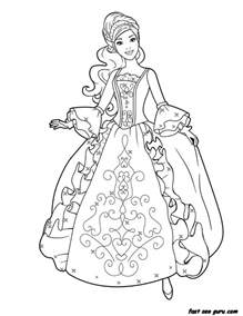 printable princess coloring pages free printable princess dress book coloring pages