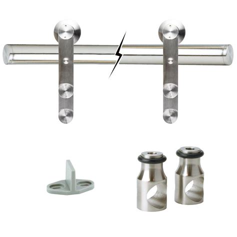 Door Hardware Home Depot by Guides Tracks Everbilt Doors Hardware Stainless Steel