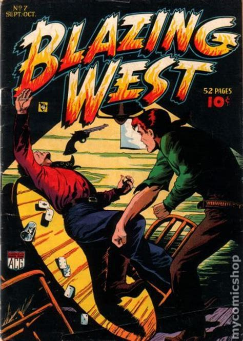 ranger creek s west adventures western tales sundog series volume 5 books blazing west 1948 comic books 1938 1955
