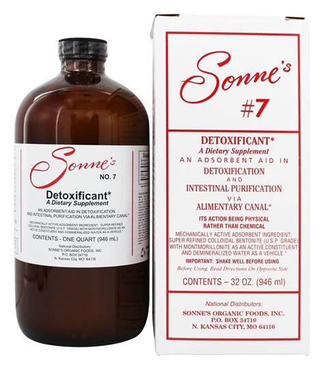 Bentonite Clay Detox For Dogs by Buy Sonne S Detoxificant Liquid Hydrated Bentonite Clay