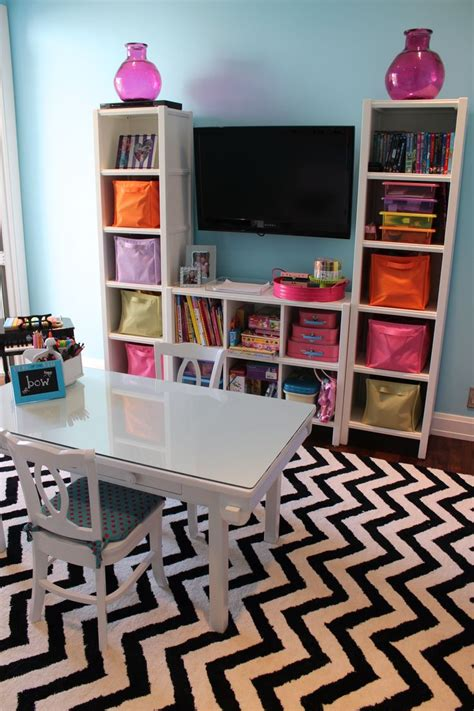 Toddler girl room storage