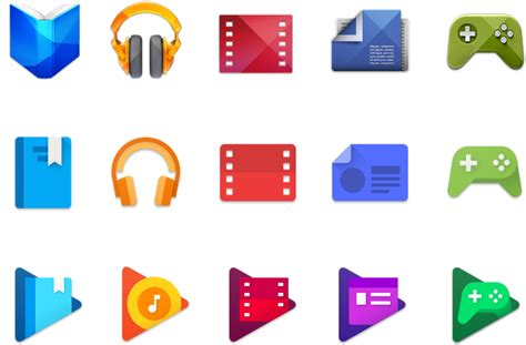 Play Store Vs Windows Store Announces New Play App Icons
