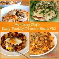 easy dinner menus 1000 images about menu planning on pinterest weekly