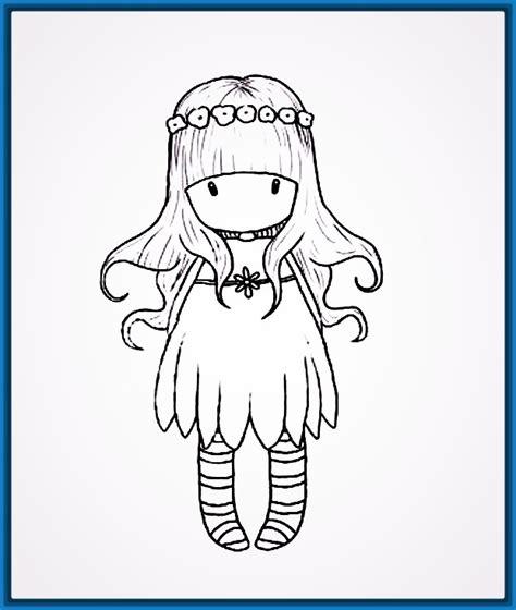 imagenes faciles para dibujar de muñecas tiernos dibujos de mu 241 ecas faciles para ti