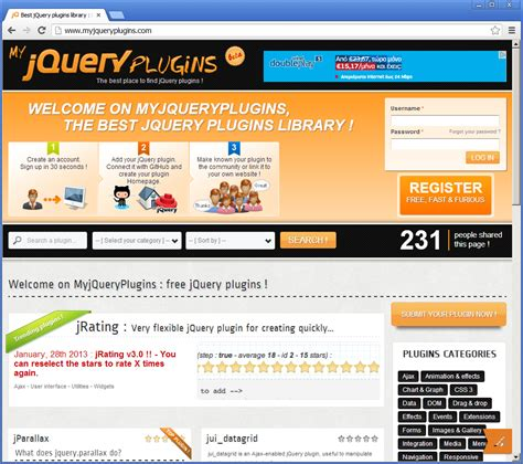 346 best my blog posts free resources images on jquery designs best 10 resources for jquery plugins