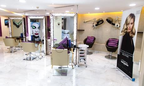 haircut groupon uae cut wash and blow dry with optional root colour and aloe