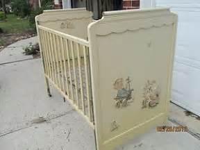 antique baby crib vintage from storkline 1950 baby