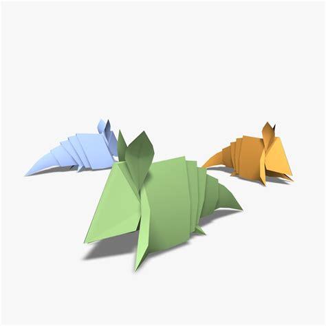 Origami Armadillo - origami armadillos 3d 3ds