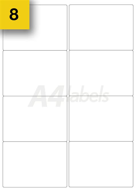labels 8 per sheet template word 3 future various